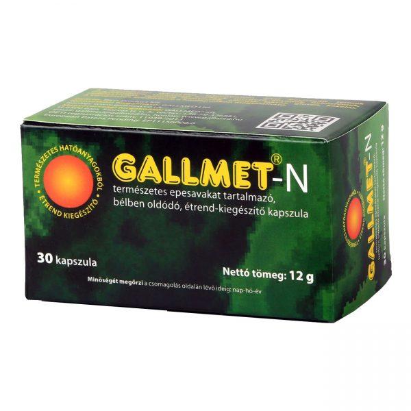 GALLMET-N 30 db epesav kapszula