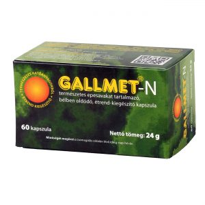 GALLMET-N 60 db epesav kapszula