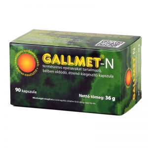 GALLMET-N 90 db epesav kapszula