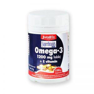 JutaVit Omega-3-pro Halolaj 1200mg 100db