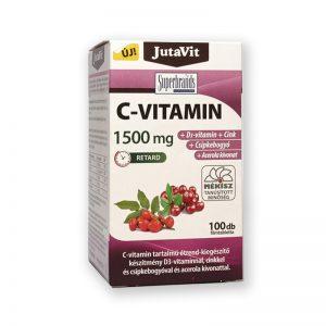 JutaVit C-vitamin 1500mg retard 100db
