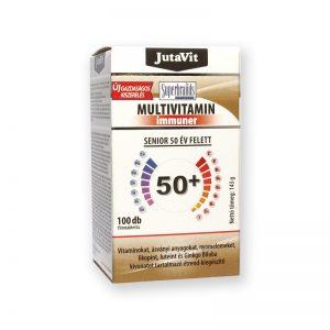 JutaVit Multivitamin 50 év felettieknek 100db